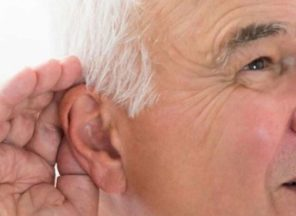 communicating elderly with hearing problems